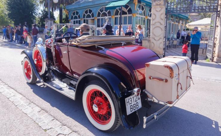 El espectáculo de los coches de época
