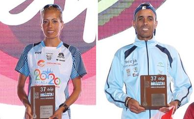 El Mouaziz y Janine Lima vencen en una Media Maratón de récord