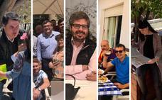 Así pasan la jornada de reflexión los candidatos de Granada