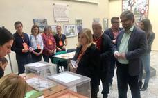 Fran Hervías (Cs): «Nadie puede quedarse en casa, les animo a que vayan en familia a votar»