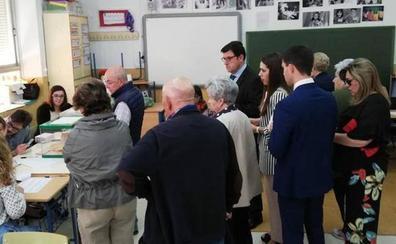 Remontada del voto por la tarde en Jaén, un 5,6% más que en 2016