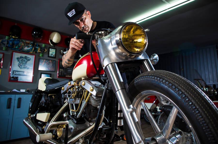 Las motos del granadino Joaquín Montero, el mejor customizador del mundo