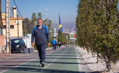 Los ayuntamientos de Granada y Ogíjares acuerdan iluminar el carril bici que une ambos municipios