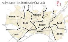 El PSOE vence en todos los barrios menos Centro y Ronda