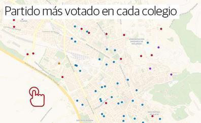 Descubre qué votaron tus vecinos de Granada, colegio a colegio
