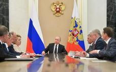Putin reúne a sus asesores de seguridad para tratar de la situación en Venezuela