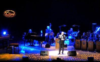 El Sinatra granadino triunfa en el 'Broadway' de Madrid