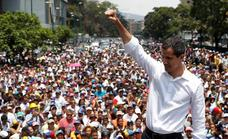 Masiva respuesta al envite de Guaidó: «No hay vuelta atrás»