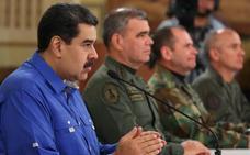 Maduro da por derrotada la «escaramuza golpista» y amenaza con acciones judiciales