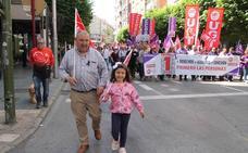 1.000 personas reclaman en Jaén recuperar los derechos laborales
