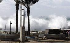 La Aemet activa para este jueves el aviso amarillo por fuerte oleaje en Almería