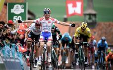Gaudu gana la tercera etapa y Roglic sigue líder