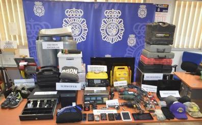 Almería y el Bajo Andarax, centro de acción de un grupo criminal