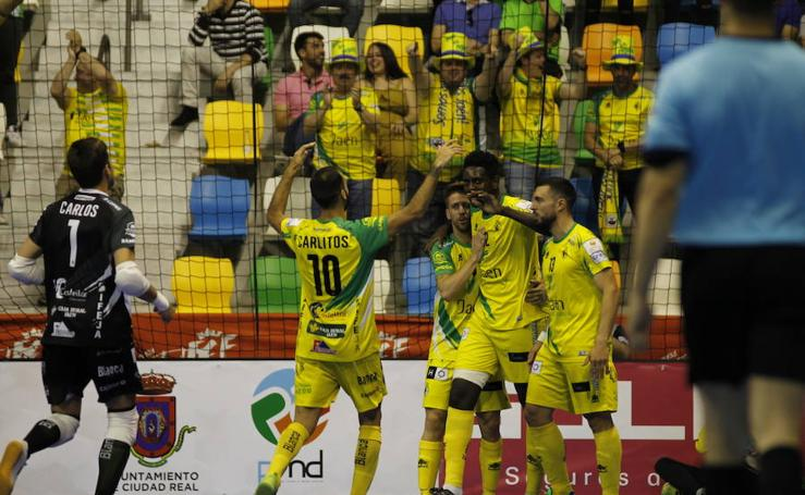 El Jaén Fútbol Sala Paraíso Interior está en la final de la Copa del Rey