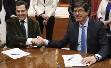 Los cien días hiperactivos de la nueva Junta de Andalucía