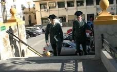 Homenaje a un guardia civil que se jubila en Jaén