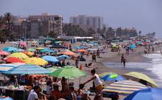 La Costa despide con playas animadas un gran puente para el sector turístico
