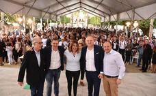 El PSOE homenajea a sus alcaldes de Almería