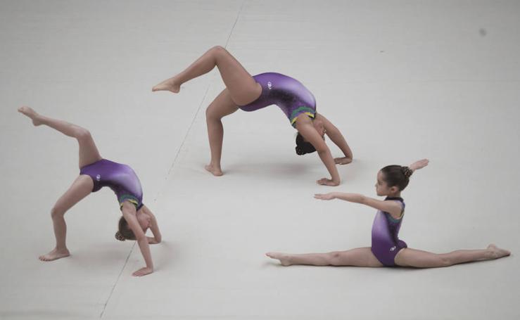 La gimnasia acrobática para romper barreras
