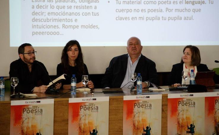 Presentado el Festival Internacional de Poesía de Granada, que arranca con una mirada en los versos de Lorca
