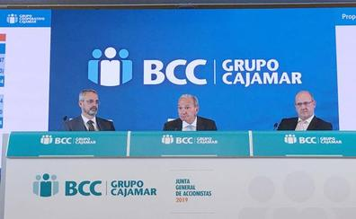 El Grupo Cooperativo Cajamar gana hasta marzo 24,6 millones de euros, un 21,7% menos