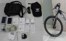A prisión el presunto autor de una veintena de robos con fuerza en comercios del centro y el Zaidín