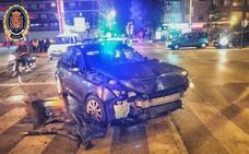 Localizan a un hombre que huyó tras causar un accidente con una herida grave en Granada