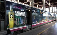El aceite de oliva, como un tren