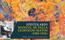 La editorial de la UGR publica la correspondencia de Manuel de Falla con Leopoldo Matos