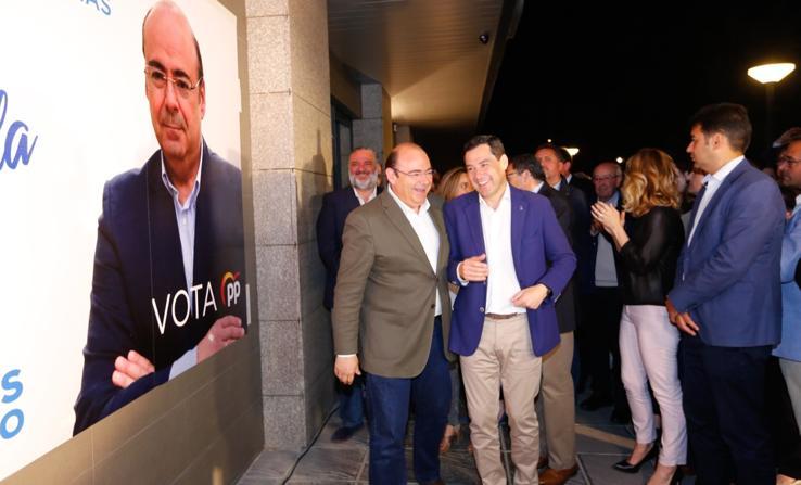 El PP de Granada arranca su campaña con Sebastián Pérez como candidato a la alcaldía