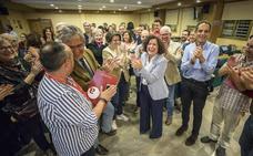 Pilar Aranda, única aspirante, reelegida rectora con una participación del 11,72%