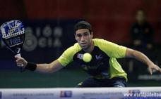 Javi Ruiz, eliminado en el Open de Vigo