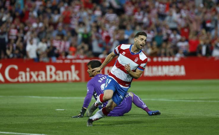 Las mejores imágenes del partido del Granada CF