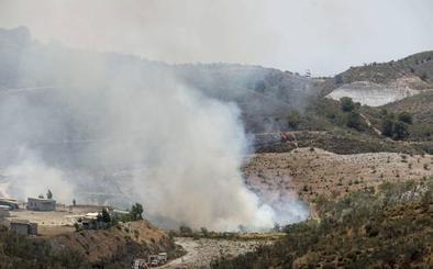 A disposición judicial a los presuntos autores de sendos incendios forestales en Quéntar y Lecrín
