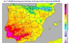 Temperaturas de pleno verano en Jaén desde hoy y hasta el jueves
