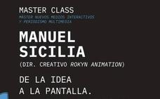 El director creativo de la productora de animación Rokyn Animation, Manuel Sicilia, imparte una Máster Class en la UGR