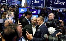 Uber sale a Bolsa con una caída del 6% a 42 dólares por acción