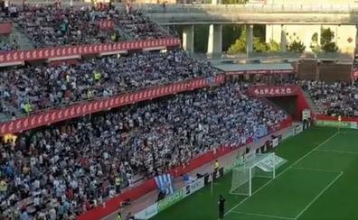 Gritos de «Rubalcaba, asesino» durante el minuto de silencio previo a la final de la Copa de la Reina en Granada