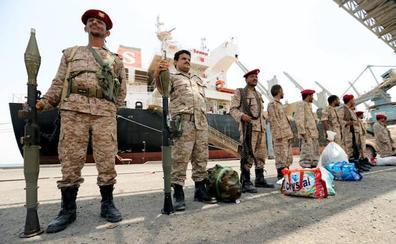 Paso atrás de la milicia hutí en Yemen