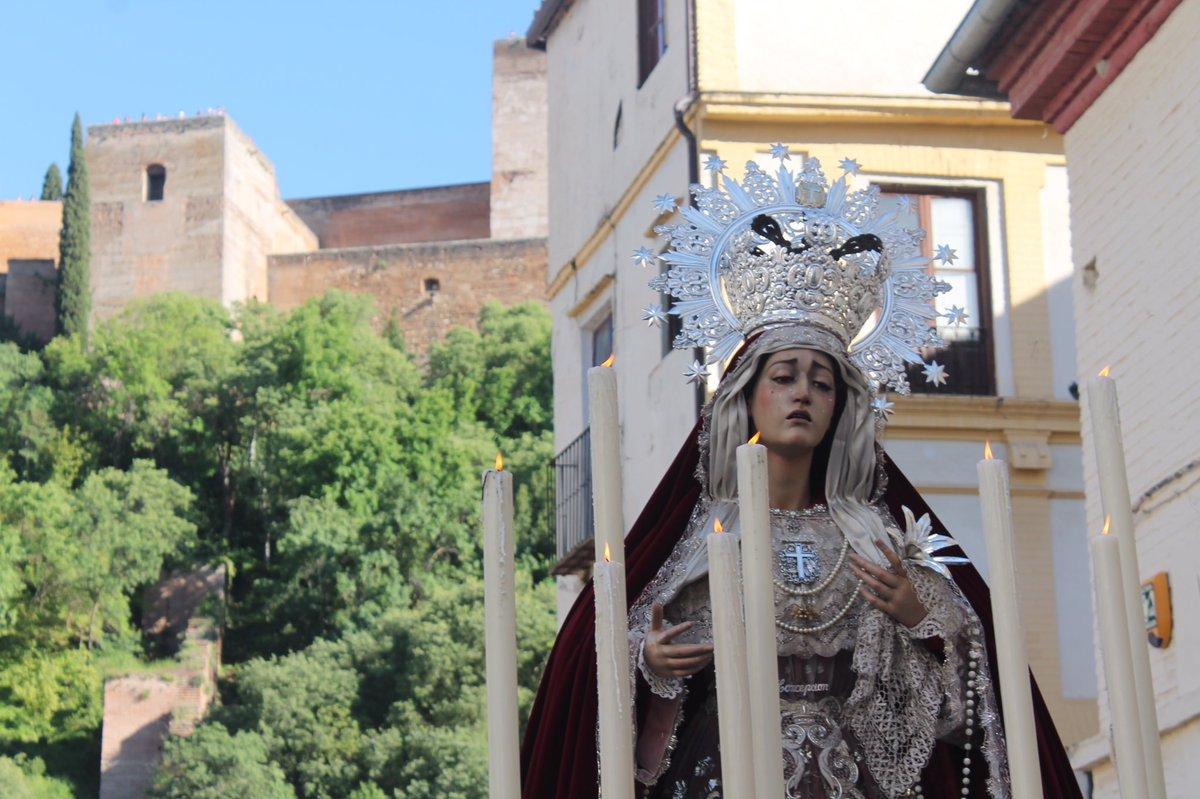 Cultos a la Virgen en el Albaicín