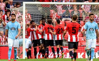 El Athletic acaricia Europa y el Celta la permanencia