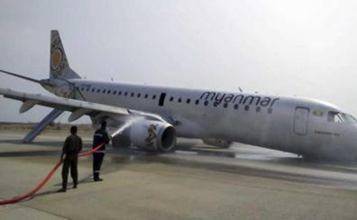 Un piloto salva a 89 personas al aterrizar de forma magistral sin ruedas
