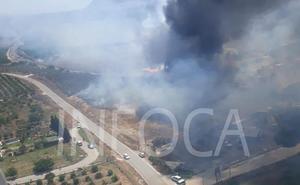 Extinguido el conato de incendio producido en Tahal