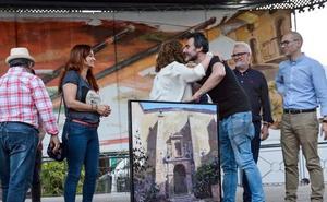 Manuel Castillero gana en Castellar el certamen de pintura rápida más importante del país