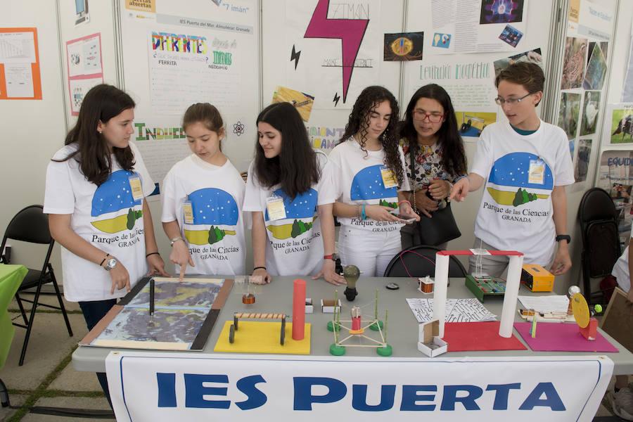 Fiesta por todo lo alto en la jornada de puertas abiertas del Parque de las Ciencias