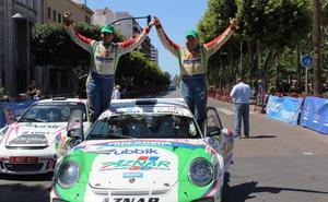 Aznar firma un pleno en el Rallye Costa de Almería