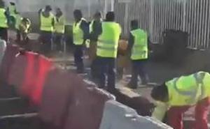 Una afiliada del PP en el País Vasco difunde el vídeo de los 52 albañiles en Granada para criticar al Ayuntamiento