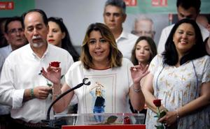 Susana Díaz acusa a Moreno de querer «interferir» con el Presupuesto