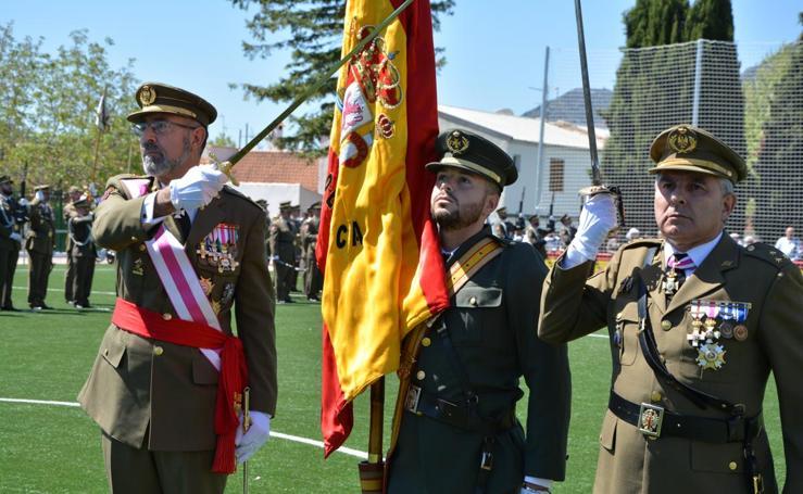 Jura de bandera en Puebla de Don Fadrique por los héroes de Baler