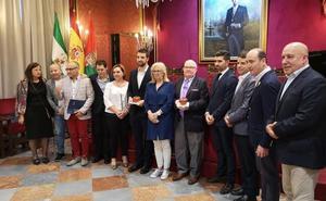Un vídeo de Sergio García y la cuadrilla del Mayor Dolor, premiados por la tertulia cofrade 'El Tomate'